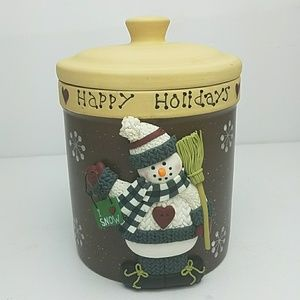 Snowman Cookie/ Candy Jar